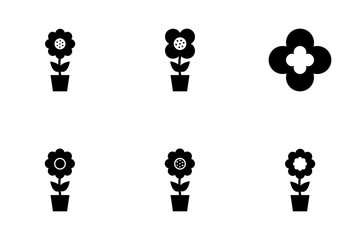 Flowers Vector Icons Icon Pack