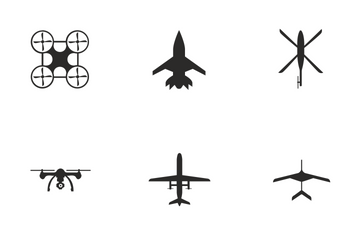 Flying Objects  Icon Pack
