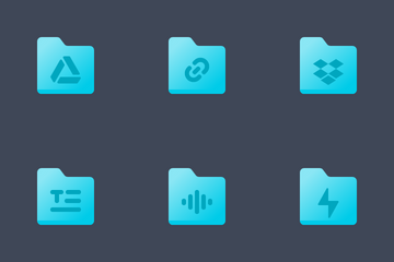 Folder Icon Pack Color Icon Pack