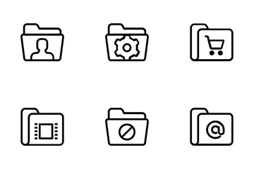 Folders Vol 1 Icon Pack