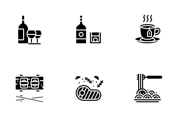 Food And Beverage Icon Pack