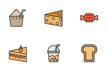 Food And Dessert Icon Pack