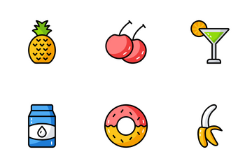 Food And Drink Icon Pack