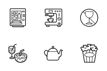 Food And Drink-2 Icon Pack