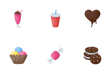 Food And Drinks 3 Icon Pack