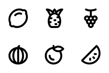 Food And Drinks  Icon Pack