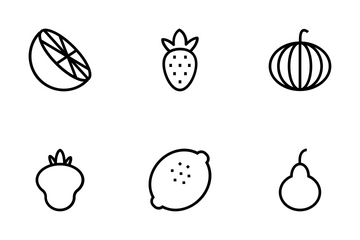 Food And Drinks Icons Icon Pack