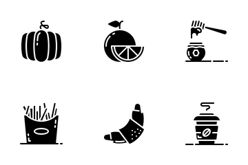 Food And Drinks Vol 2 Icon Pack