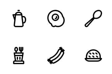 Food And Equipment Icon Pack
