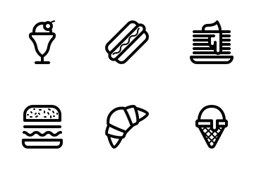 Food And Sweet Icon Pack
