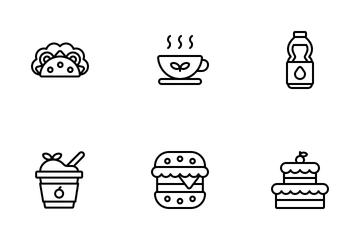 Food & Beverage Icon Pack