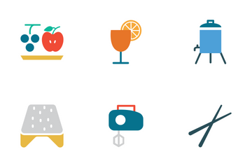 Food Colored Icons Icon Pack