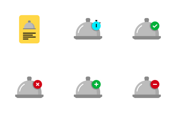 Food Delivery Icon Pack