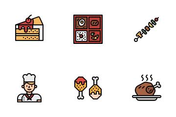 Food & Dessert Icon Pack