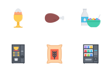 Food & Drinks Flat Icon Pack