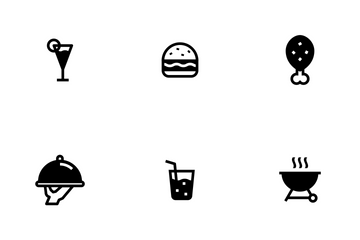 Food Fill Icon Pack