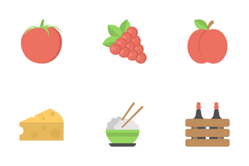 Food Flat Icons 1 Icon Pack
