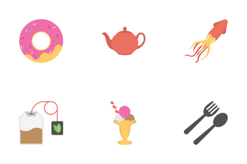 Food Flat Icons 2 Icon Pack