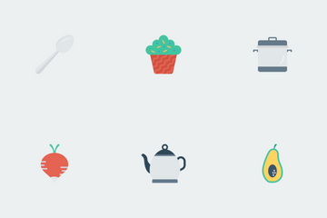 Food Flat Icons Icon Pack