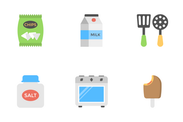 Food Flat Icons 3 Icon Pack