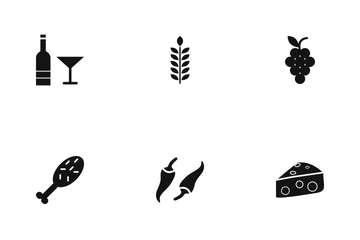 Food Glyph Icon Pack