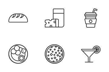 Food  Icon Icon Pack