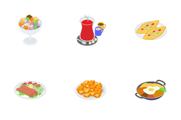 Food Items Icon Pack