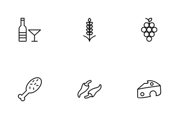 Food Line Icon Pack