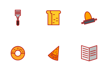 Food Part 2 Flat Icon Pack