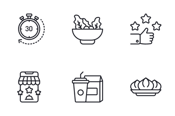 Food Services Icon Pack