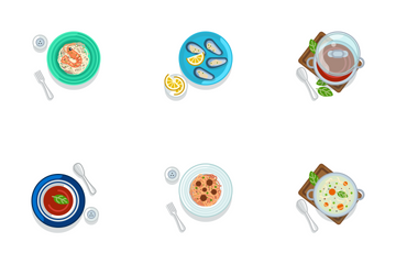 Food - Serving Icon Pack