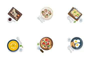 Food - Serving (part 2) Icon Pack