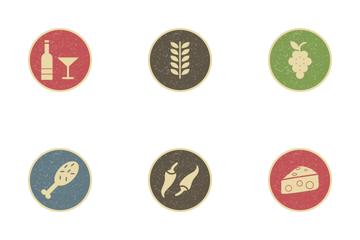 Food Vintage Icon Pack