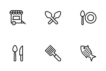 Foods And Drinks Icon Pack