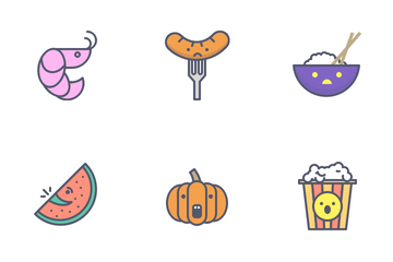 Foody Icon Pack