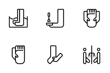 Foot Care Icon Pack