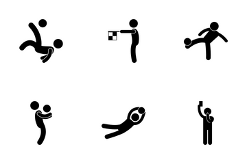 Football Player Icon Pack