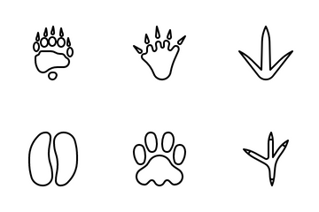 Footprints Icon Pack