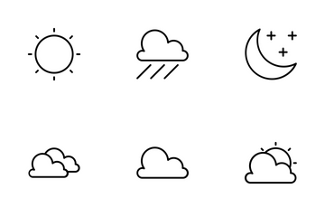 Forecast Weather Icon Pack