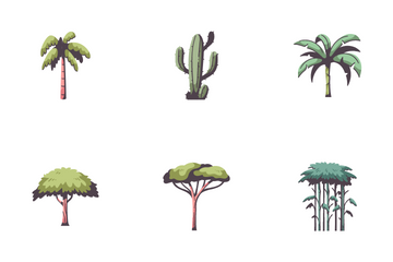 Forest Element Icon Pack