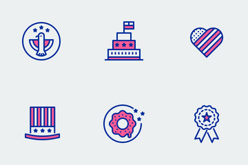 Fourth Of July Icon Pack