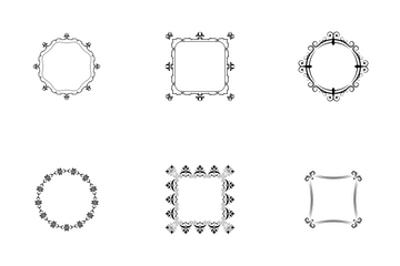 Frames And Monograms Icon Pack