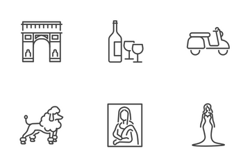 France Culture Icon Pack