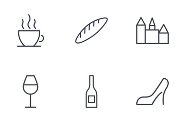 France Thinline  Icon Pack