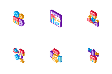 Franchise Business Icon Pack