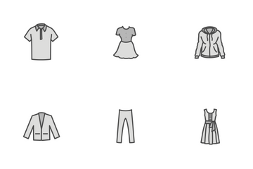 Free Clothing Fill Icons Icon Pack