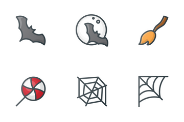 Free Color Halloween Icons Icon Pack