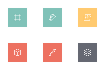 Free Designer Line Icons Icon Pack