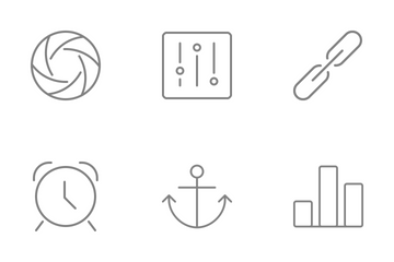 Free Line-Style Web Icons Icon Pack