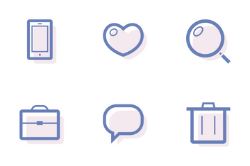 Free Lined Icon Pack